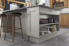 classic-contemporary-wakefield-light-oak-painted-stone-kitchen-island-open-shelf-A