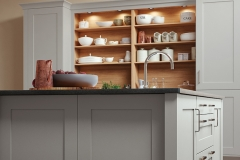 modern-contemporary-classic-georgia-painted-light-grey-kitchen-island-cabinets