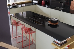 modern-contemporary-strada-matte-mussel-painted-kitchen-island-A
